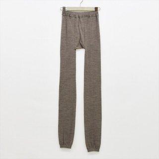 Fog linen work(フォグリネンワーク)ウールレギンス モカ