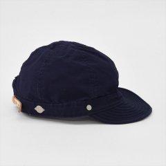 Decho(デコー)SHALLOW KOME CAP ネイビー