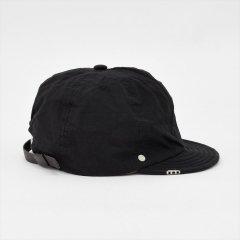 Decho(デコー)BALL CAP BACKLE ブラック(リップストップ)