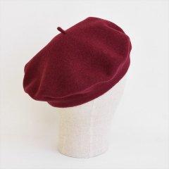 フランスKanopi(カノピ)Le Beret Francais Standard クランベリー(ウールベレー帽)