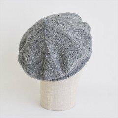 フランスKanopi(カノピ)Le Beret Francais Printemps グレー(コットンリネンベレー帽)