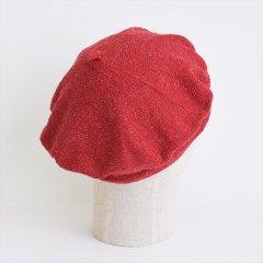 フランスKanopi(カノピ)Le Beret Francais Printemps レッド(コットンリネンベレー帽)