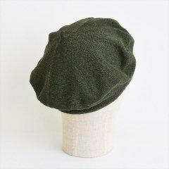 フランスKanopi(カノピ)Le Beret Francais EcoJean カーキ(コットンベレー帽)