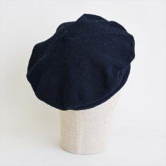 フランスKanopi(カノピ)Le Beret Francais EcoJean ネイビー(コットンベレー帽)