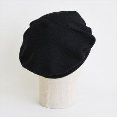 フランスKanopi(カノピ)Le Beret Francais EcoJean ブラック(コットンベレー帽)