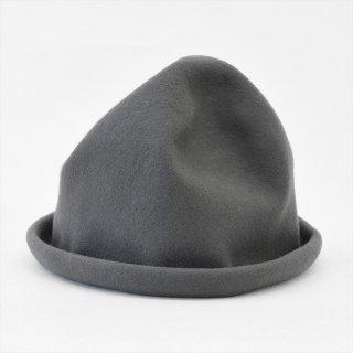 Decho(デコー)WOOL FELT HAT グレー(ウールフェルト)