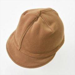 Decho(デコー)PUTON CAP キャメル(メルトン)