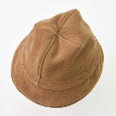 Decho(デコー)PUTON HAT キャメル(メルトン)