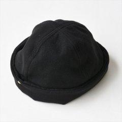 DECHO(デコー)x ANACHRONORM(アナクロノーム)WEAVING WATCH CAP ブラック(メルトン)
