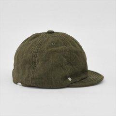 Decho(デコー)JACQUARDQUILT BALL CAP オリーブ(ジャカード)