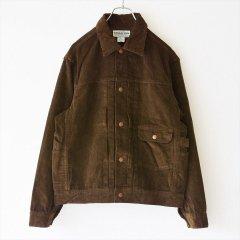 SASSAFRAS(ササフラス)Gardener Jacket 12W Corduroy ブラウン