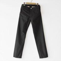Sassafras(ササフラス)Sprayer Pants ブラック(バックサテン)
