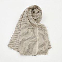 Fog linen work(フォグリネンワーク)トゥズ フリンジスカーフ スタンリー