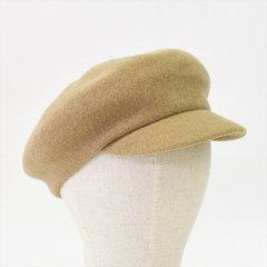 Decho(デコー)BASQUE CAP ベージュ(ウール)