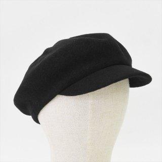 Decho(デコー)BASQUE CAP ブラック(ウール)