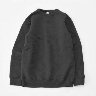 Yetina(イエティナ)Sweatshirt ブラック(クルーネック)