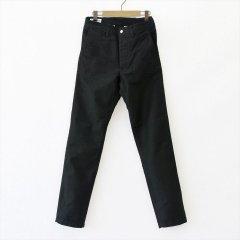 Sassafras(ササフラス)Sprayer Pants ブラック(モールスキン)