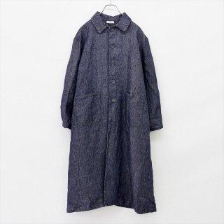 fog linen work(フォグリネンワーク)ヘレナコート ネイビー(リネンデニム)