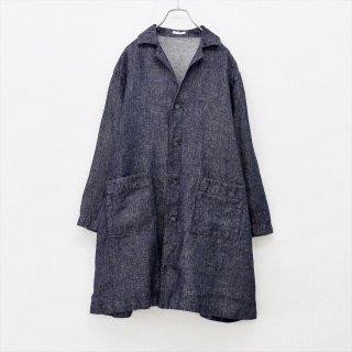 fog linen work(フォグリネンワーク)エリカジャケット ネイビー(リネンデニム)