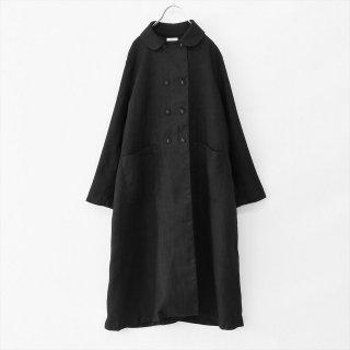 fog linen work(フォグリネンワーク)ライラ コート ブラック(厚地リネン)