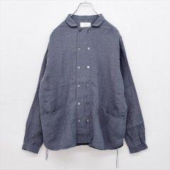 Another 20th century(アナザートゥエンティースセンチュリー)Bio Koch Shirts チャコール(ベルギーリネン)