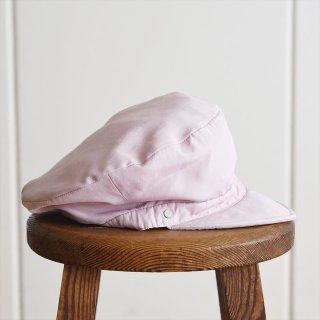 Decho(デコー)WORK CAP ピンク(リネン混ポリエステル)
