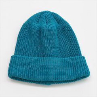 DECHO(デコー)KNIT CAP ブルー