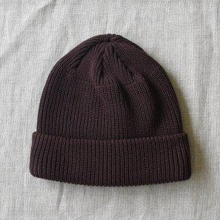 DECHO(デコー)KNIT CAP ブラウン