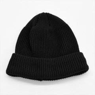 DECHO(デコー)KNIT CAP ブラック