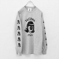 TACOMA FUJI RECORDS (タコマフジレコード)L/S Tシャツ TACOMA FUJI ORIENTALES ヘザーグレー