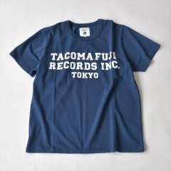 TACOMA FUJI RECORDS (タコマフジレコード)TACOMA FUJI RECORDS, INC. Tee designed by Shuntaro Watanabe ネイビー