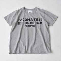 TACOMA FUJI RECORDS (タコマフジレコード)TACOMA FUJI RECORDS, INC. Tee designed by Shuntaro Watanabe ヘザーグレー