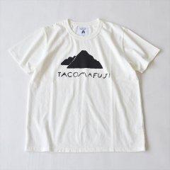 TACOMA FUJI RECORDS (タコマフジレコード)Mt. TACOMA FUJI designed by Yachiyo Katsuyama ホワイト
