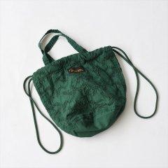 Napron(ナプロン)PATIENTS BAG mini ブルー(刺繍)