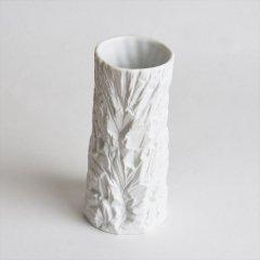 [60's Vintage] White Bisque Vase ICEBERG(西ドイツ)
