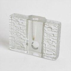 [60-70's Vintage] Walther Glas Vase OP ART WIDE(西ドイツ)