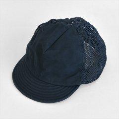 Decho(デコー)MESH CAP ネイビー(ビンテージキャンバス×メッシュ)