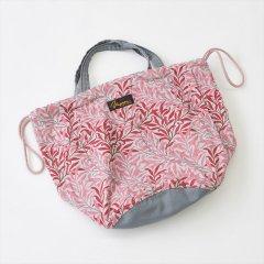 Napron(ナプロン)PATIENTS BAG 13L, William Morris(ウィリアムモリス)ピンク