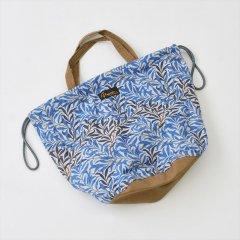 Napron(ナプロン)PATIENTS BAG 13L, William Morris(ウィリアムモリス)ブルー