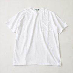 Sassafras(ササフラス)CHOP CORNER POCKET T(半袖Tシャツ)ホワイト
