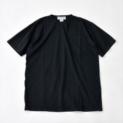 Sassafras(ササフラス)CHOP CORNER POCKET T(半袖Tシャツ)ブラック
