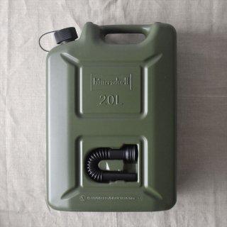 ドイツHünersdorff(ヒューナースドルフ)FUEL CAN(燃料ポリタンク)PRO 20L