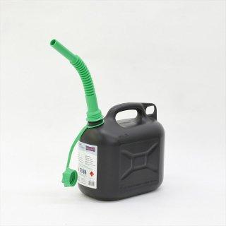 ドイツHünersdorff(ヒューナースドルフ)FUEL CAN(燃料ポリタンク)CLASSIC 5L
