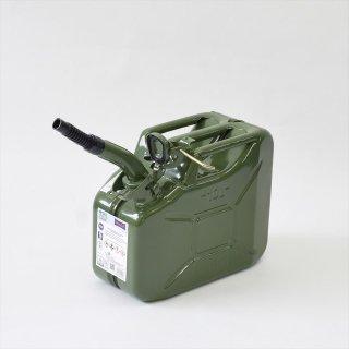 ドイツHünersdorff(ヒューナースドルフ)METAL FUEL CAN (燃料メタルタンク)CLASSIC 10L(ノズル付き)