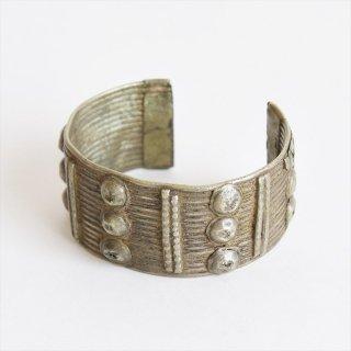エチオピア [Vintage] Ethiopian Wollo Bracelet w/Humps(ワロブレスレット)