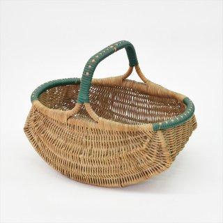 [Vintage] French Old Rattan Basket(フランスの古いラタンバスケット)