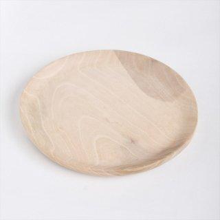 モロッコのウォルナット(くるみ)丸皿 20cm �