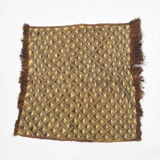 アフリカコンゴ Old Bushoong Kuba Cloth E(クバ布/草ビロード)