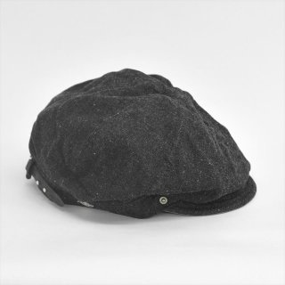 DECHO(デコー)BIKERS CAP ブラックデニム