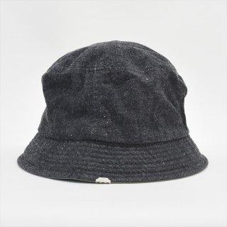 DECHO(デコー)BUCKET HAT ブラックデニム